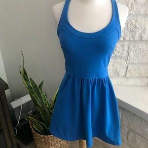 Cynthia Rowley Blue Stretch Tank Dress Sz XS